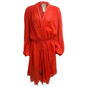 Forte Forte Red Voile Cocktail Dress